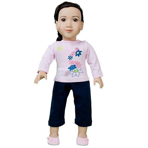 "My Twinn 18"" Pink Flower Outfit - 1"