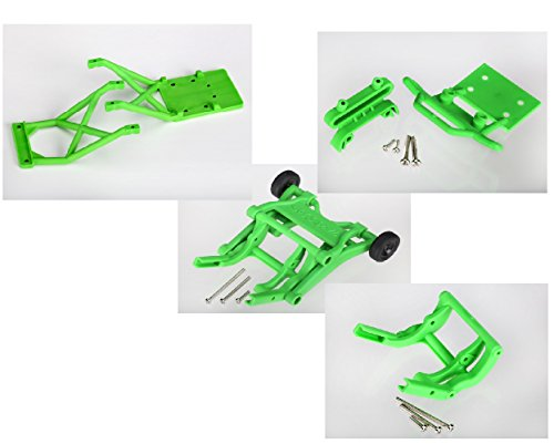 TRAXXAS STAMPEDE CONVERSION KIT FOR THE XL-5 STAMPEDE, AND STAMPEDE VXL, AND SKULLY'S.INCLUDES WHEELIE BAR, SKIDPLATES,, AND FRONT BUMPER, 3678A,3623A,3621A,3677A (Traxxas Monster Jam Wheelie Bar compare prices)