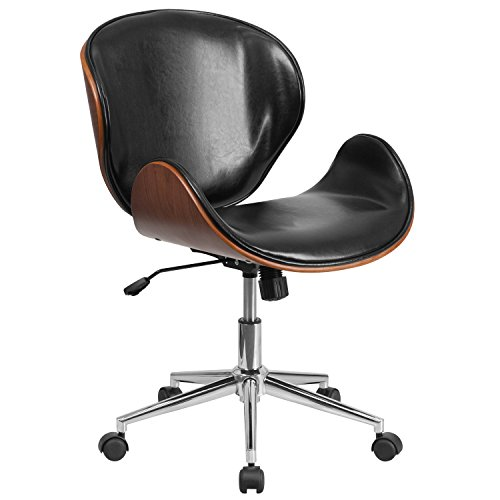 flash-furniture-mid-back-natural-wood-swivel-conference-chair-in-leather-black