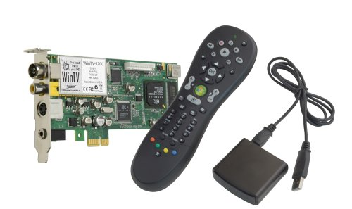 Hauppauge WinTV HVR 1700 Internal Vista Kit/Hybrid analogue and digital PCI-express TV Tuner with hardware encoder and media centre remote