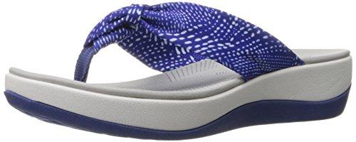 clarks-womens-arla-glison-flip-flop-blue-white-dots-fabric-12-m-us