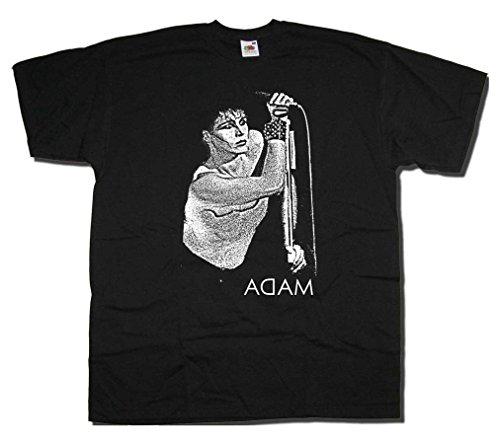 Adam & le formiche-T shirt, Adam on Stage ritratto Nero  nero