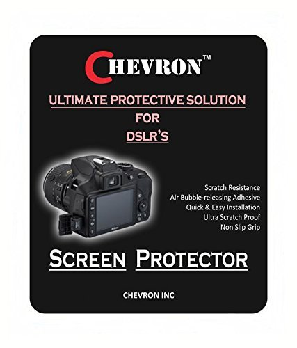 Chevron Ultra Clear HD Screen Guard For Nikon D3300 DSLR Camera  available at amazon for Rs.149