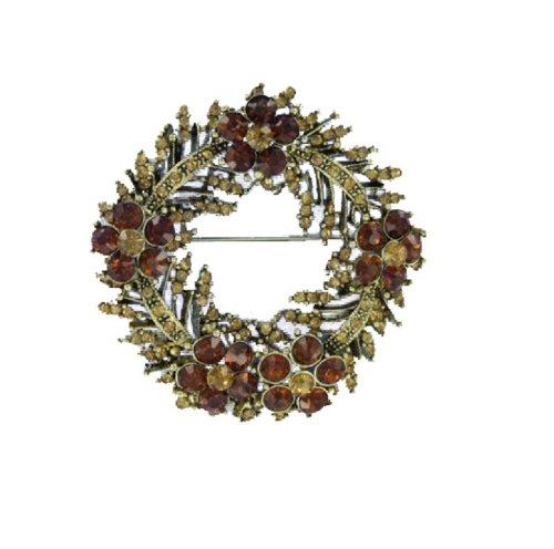 Fashion Trendy Flower Brooch #019152