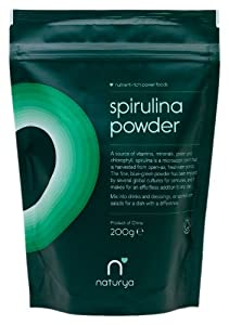 Naturya Organic Spirulina Powder 200 g Nutritional Power Food Pouch