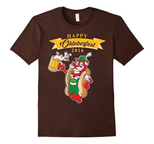 [Men's Festival Oktoberfest Beer Festival Funny Pary Drink Shirt 3XL Brown] (Oktoberfest Costumes Australia)