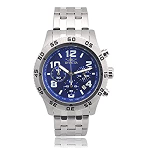 Invicta Men's 1489 Stainless Steel Specialty Chronograph Link Watch