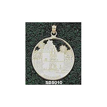 San Diego State Aztecs Hardy Main Archway Pendant - 10KT Gold Jewelry by Logo Art