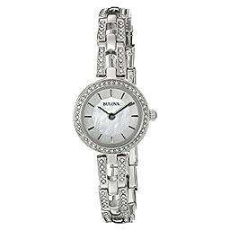 Bulova Women\'s 96X130 Analog Display Quartz Silver Watch