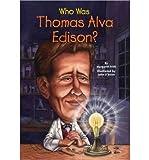 img - for Who Was Thomas Alva Edison? (Who Was...? (PB)) (Hardback) - Common book / textbook / text book