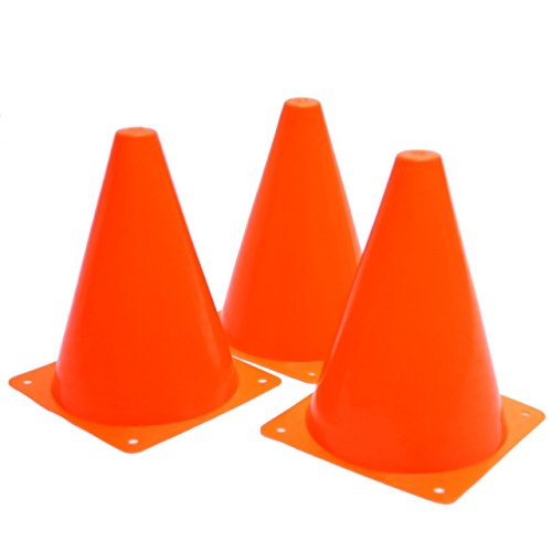 Fun Express Set of 12 Sport Training Traffic Soccer Cone