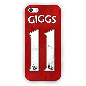 EYP Manchester United Ryan Giggs Back Cover Case for Apple iPhone 5S