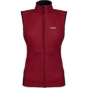 Mobile Warming Jackii Ladies Sports Bike Motorcycle Vest - Wine by Mobile Warming