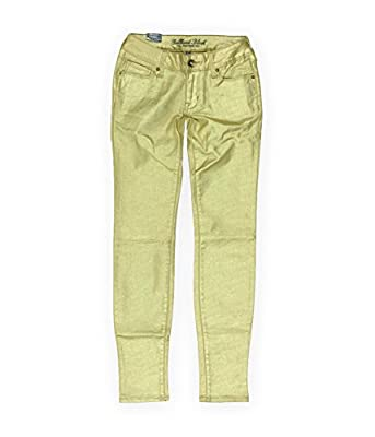 Bullhead Denim Co. Womens Premium Sparkle Skinniest Skinny Fit Jeans