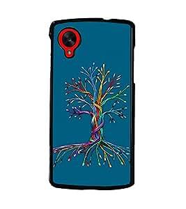 PRINTSWAG WIRED TREE Designer Back Cover Case for LG GOOGLE NEXUS 5