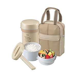 Zojirushi Ms. Bento Stainless Lunch Jar, Beige