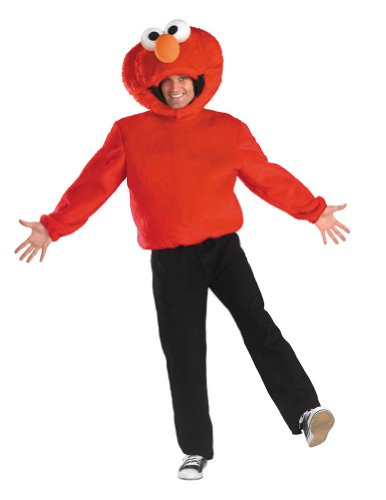 Elmo Halloween Costume - Adult 42-46