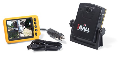iBall 5.8GHz Wireless Magnetic Trailer Hitch Car Truck Rear View Camera LCD Monitor (Trailer Hitch Camera compare prices)