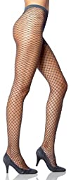 Lupo Loba Womens Fashion Fishnet Pantyhose
