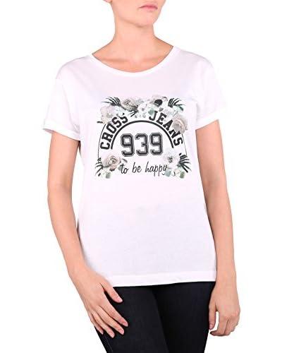 Cross Jeans T-Shirt Manica Corta [Bianco]