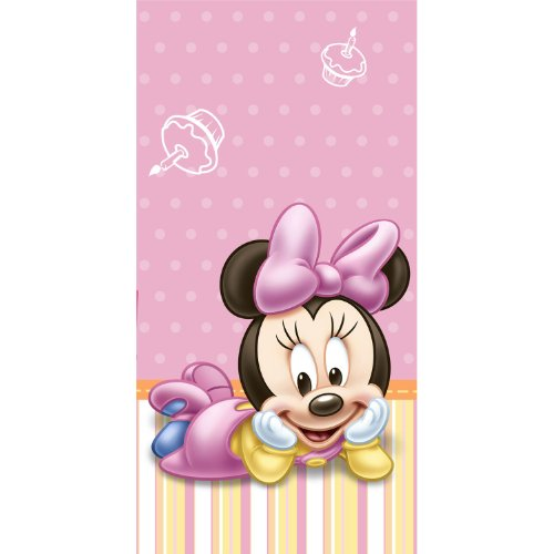 Hallmark Minnie's 1st Birthday Table Cover