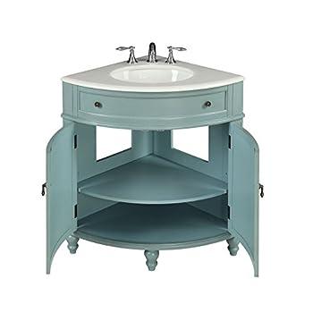 "24"" Vintage Light Blue Cottage Style Thomasville Bathroom sink vanity Model # GD-47544BU"
