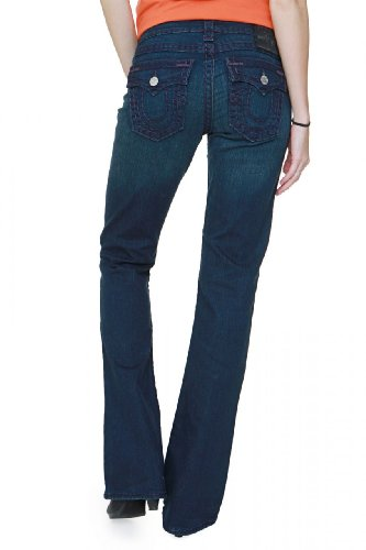 True Religion Boot Cut Jeans BECKY SUPER T, Color: Dark blue