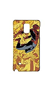 Jumping Spiderman Case For Samsung Galaxy Note 4