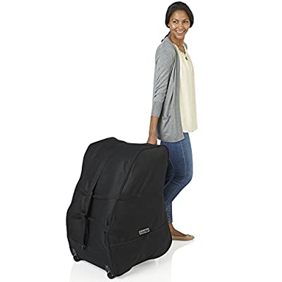 J is for Jeep Child Car Seat Travel Bag with Wheels (Black) Infant and Baby Safety Accessory by Jeep, HIS Juveniles Inc. that we recomend personally.