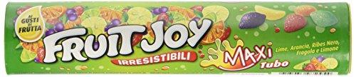 NESTLÉ FRUIT JOY MAXI TUBO caramelle gommose con succhi frutta maxi tubo da 125g