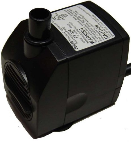 Jebao 388LV Fountain Pump (198GPH)- a safe, versatile low voltage pump