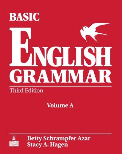 Basic English Grammar: Student Book Bk. A