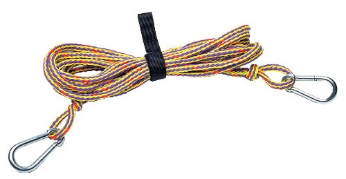 Kwik Tek TR-20 PWC Tow Rope with Rope Keeper (20-Feet)
