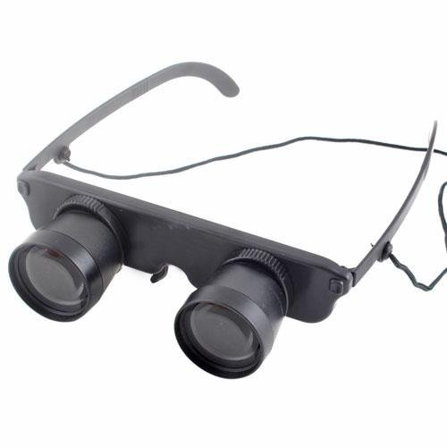 Eyeglass Design 3X Magnification Adjustable Binoculars Telescope #4