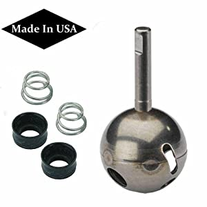Replacement For Delta RP70 Stainless Ball Stem + RP4993