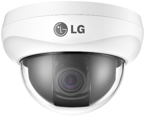 Lg Lcd5300 650Tvl Color Xdi-V Day/Night 2.8-11Mm Dual Voltage Dome Camera With Osd And Icr (White)