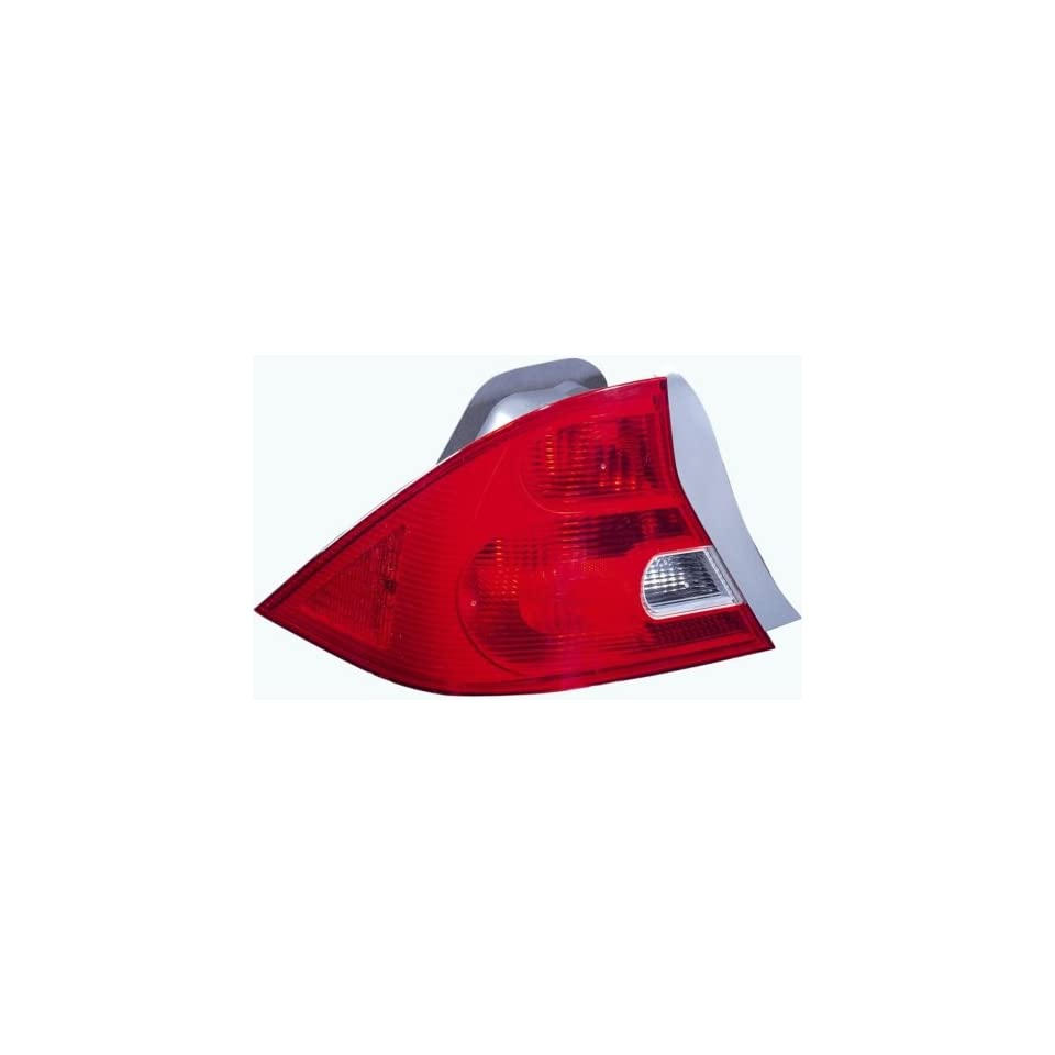 Honda Civic Coupe Replacement Tail Light Assembly   Driver Side
