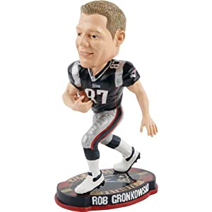 NFL New England Patriots Gronkowski R. #87 Road 2012 Football Base Bobblehead by Forever Collectibles