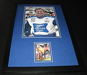 Rusty Wallace Signed Framed 11x17 Photo Display Miller High Life Light by The Steel City Auctions Gallery