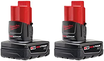 2-Pack Milwaukee M12 12-Volt Battery