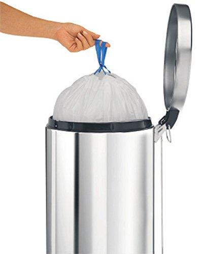 brabantia trash bags 4 3 gallon 20 liter size e 245329 hardware plumbing drain accessories. Black Bedroom Furniture Sets. Home Design Ideas