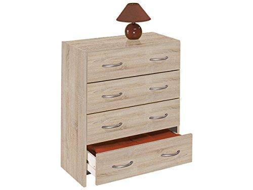 Kommode-Schubladenkommode-Schubladen-Sideboard-Anrichte-Mehrzweckkommode-Henry-SonomaEiche