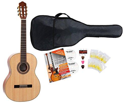 Rocktile CG-40 4/4 Konzert Gitarre Starter Set