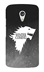 Back Cover for Moto G (2nd Gen) Winter is coming