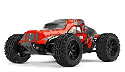 Exceed Racing Legion 1/10 Scale Monster Truck Ready To Run 2.4ghz (Dd Red)