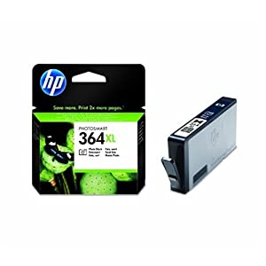 HP - 364XL - Cartouche d'encre d'origine - Noir Photo