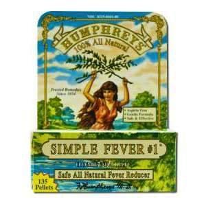 Humphreys Simple Fever #1 135 Pellets