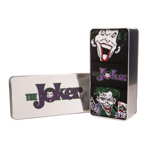 Calze Da Uomo Joker In A Tin DC Comics (Confezione Da 3) - 41/46