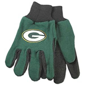 Buy McArthur Sports Green Bay Packers NFL Two Tone Gloves by McArthur