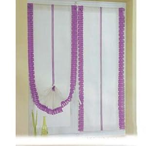 Coppia tende 60x 150 lilla si arricciano casa for Tende lilla glicine